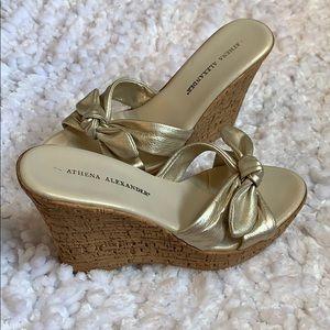 Athena Alexander size 7 slip-on heals